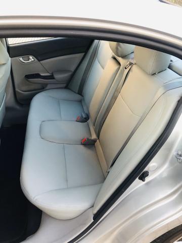 Honda Civic 1.8 LXL Automático 2013 IPVA PAGO - Foto 11