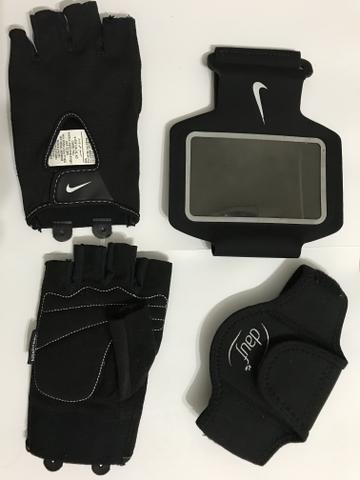 Luva e braçadeiras para Academia/Caminhada - Foto 2