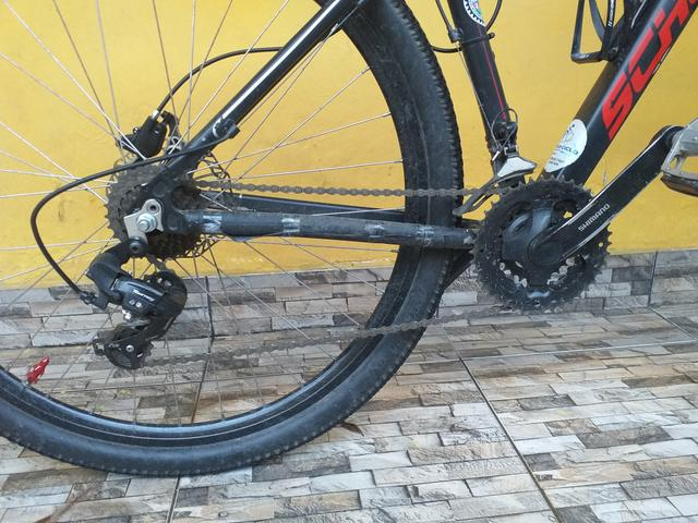Bike aro 29, aceito cartão - Foto 3