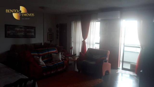 Apartamento com 3 dormitórios à venda, 234 m² por R$ 480.000,00 - Miguel Sutil - Cuiabá/MT - Foto 2
