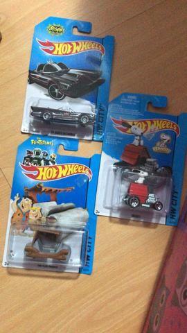 Carro Hot Wheels De personagens de filmes/desenho