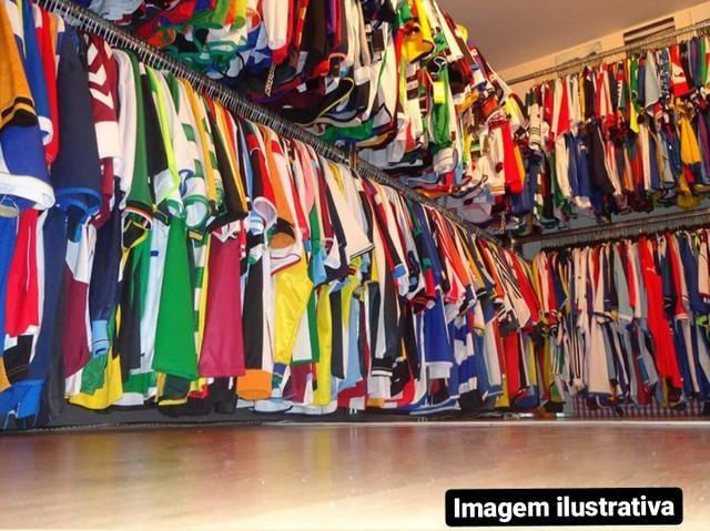 Lote 120 Camisas de Futebol