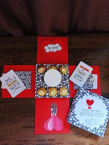 Caixa Explosao Dia dos Namorados - Foto 3