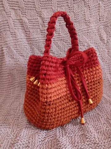 Bolsas de crochê - Foto 2