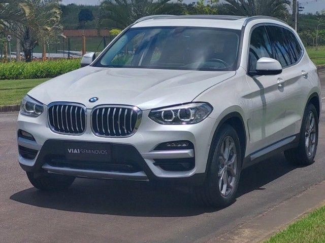 BMW X3 Xdrive20i 2.0 Biturbo 4x4 - 2020 - Impecável c/ Apenas 9.000km