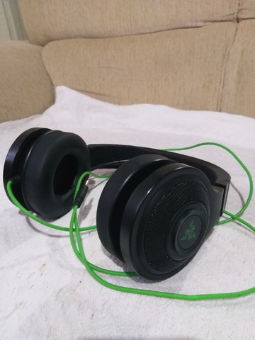 Headset Gamer Razer Kraken Essential Usado - Foto 5