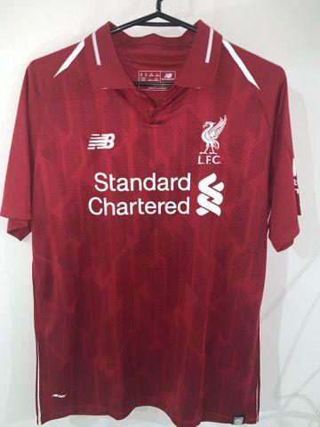 Camisa oficial Liverpool 2018