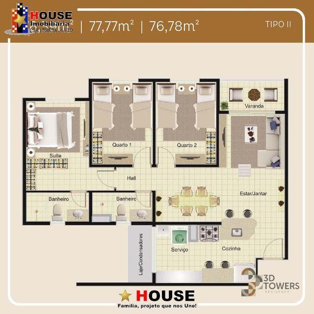3D Towers, 2 quartos - Foto 9