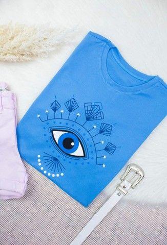 Camiseta 100% algodão  - Foto 2