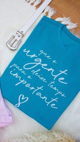 T-shirt 100% algodão  - Foto 2