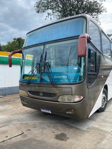 Ônibus Leito Mercedes Benz Trucado Comil 2001 - Foto 2