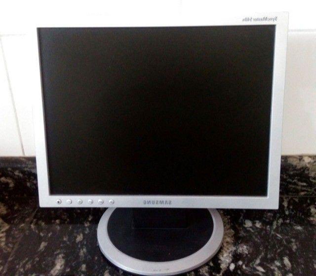 monitor samsung 15 polegadas preto. - Foto 2