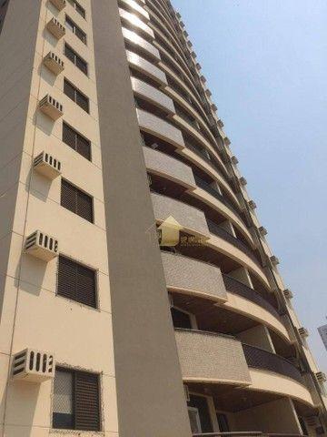 Apartamento com 3 dormitórios para alugar, 109 m² por R$ 2.000,00/mês - Quilombo - Cuiabá/ - Foto 2