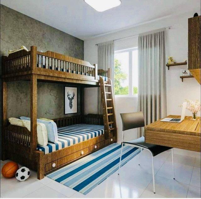 WS apartamentos com 2 quartos 2 banheiros com entrada parcelada em ate 60x - Foto 6
