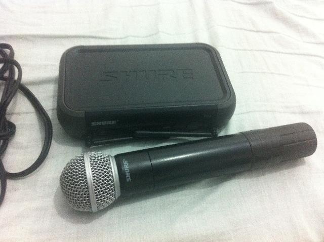 2 Microfone Sem Fio Shure PGX4