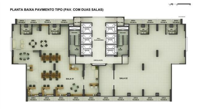 Sala Comercial 28,20m² com vaga no ITC Rio Mar - Foto 12