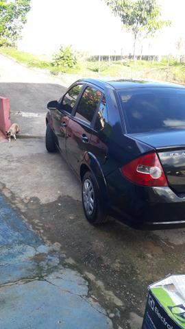 Fiesta sedan preto flex - Foto 8