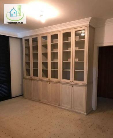 Apartamento com 5 dormitórios para alugar, 541 m² por r$ 23.000/mês - santo amaro - são pa - Foto 12