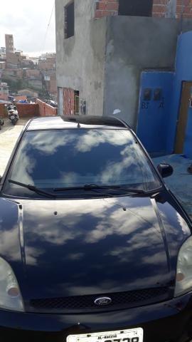 Fiesta sedan preto flex - Foto 2
