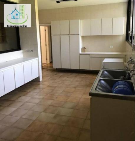 Apartamento com 5 dormitórios para alugar, 541 m² por r$ 23.000/mês - santo amaro - são pa - Foto 10
