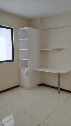Alugo Apartamento 70 mt² 2/4 prox Av Maria Quitéria garagem coberta tx cond incluída - Foto 8