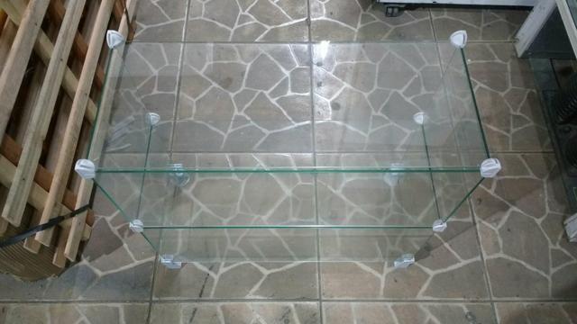 (Barbada) Expositor em vidro