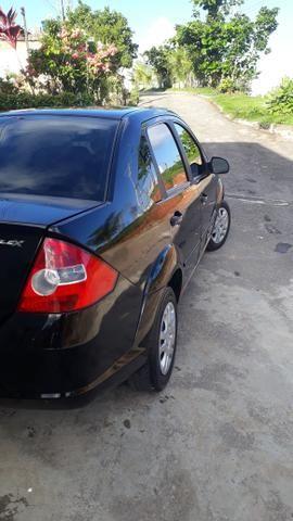 Fiesta sedan preto flex - Foto 5
