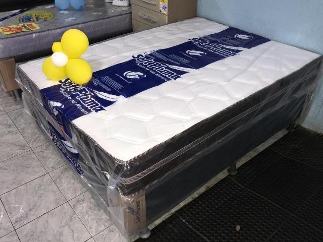 Mega Promoçãoo Cama box casal de Molas Aproveite