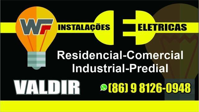 Eletricista instalações e manutenções *