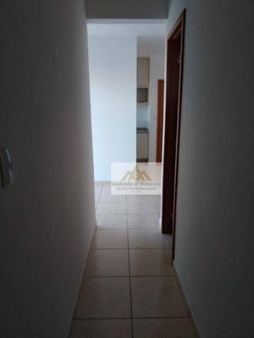 Apartamento com 2 dormitórios para alugar, 50 m² por r$ 850/mês - ipiranga - ribeirão pret - Foto 8