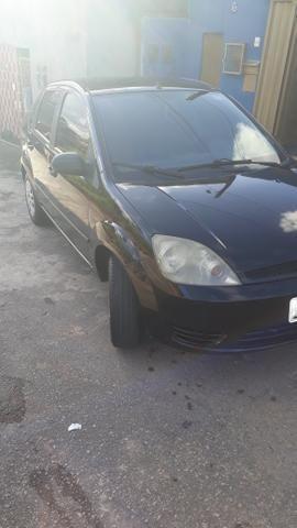 Fiesta sedan preto flex - Foto 6