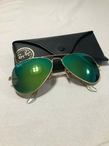 Óculos Ray Ban Aviator RB-3025 Large Metal 112 19 58 14 ... 1616e5ff14