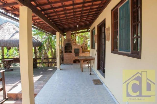 CL 01- Casa na Ilha de Itacuruçá Mangaratiba-RJ com fantástica vista para o mar - Foto 6