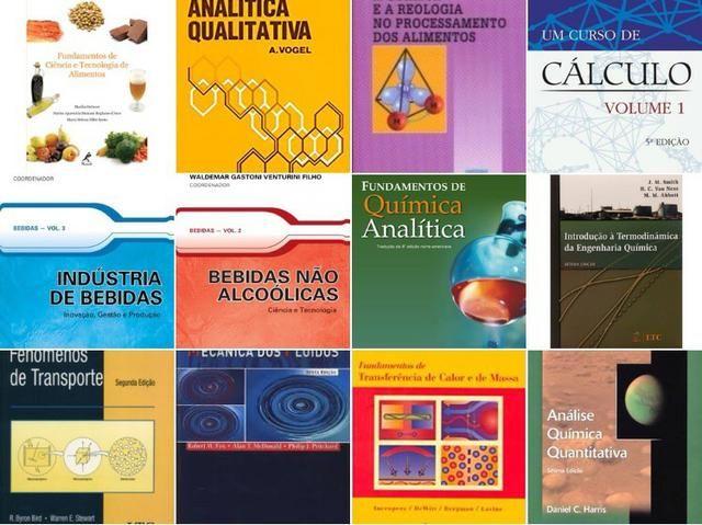 21 Livros Universitários Essenciais de Engenharia e Ciências de Alimentos