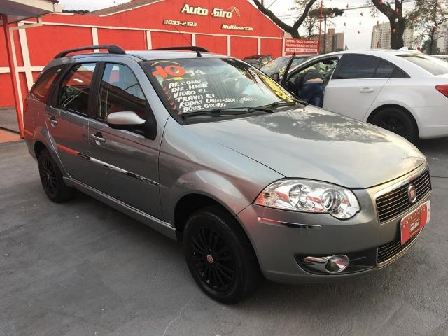 Fiat Palio weekend 1.4 Completa + couro - Foto 2