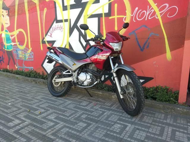 Honda nx4 falcon 2008 c/baixo km - Foto 6