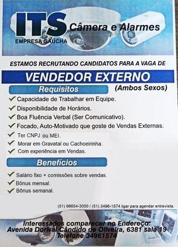 Vaga para vendedor externo, com experiência!!!