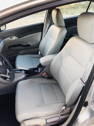 Honda Civic 1.8 LXL Automático 2013 IPVA PAGO - Foto 12