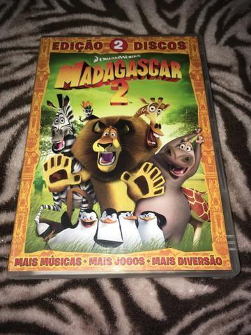 Dvd Madagascar 2 edição de colecionador