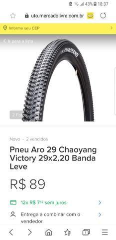 02 Pneus bike/bicicleta Chaoyang