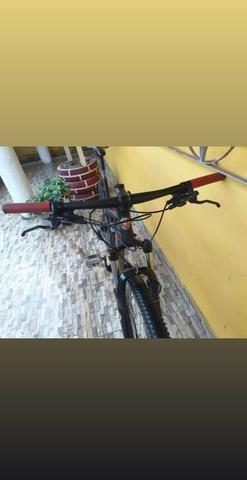 Bike aro 29, aceito cartão - Foto 2