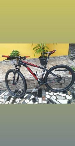 Bike aro 29, aceito cartão