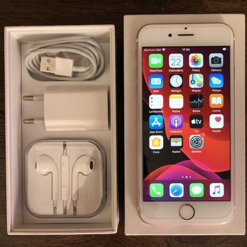 IPhone 6s Rose de 32GB Todo Original Tudo funciona Bateria Nova Parcelo no Cartão - Foto 2