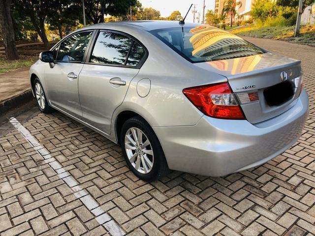 Honda Civic 1.8 LXL Automático 2013 IPVA PAGO - Foto 7