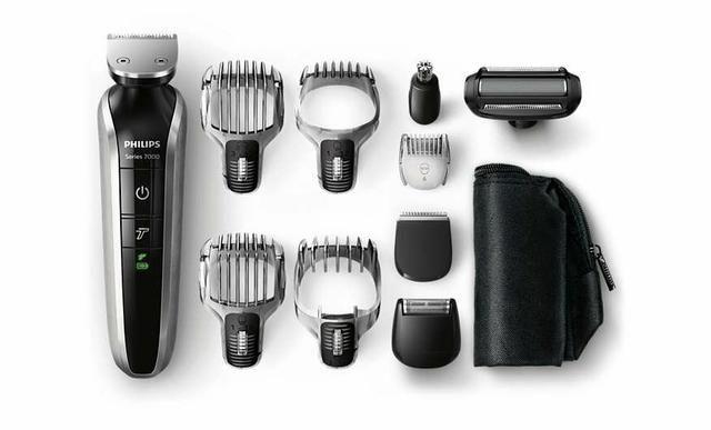 Barbeador/Aparador Phillips Multigroom Pro Série 7000 - Foto 3