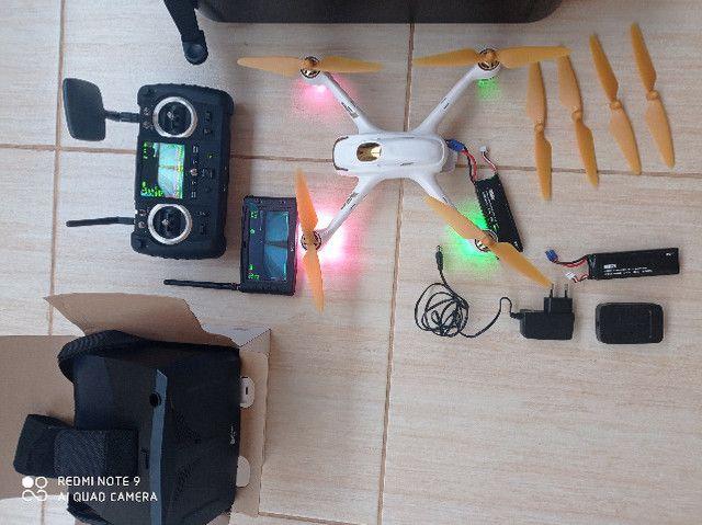 Drone Hubsan H501s Pro aeromodelo bateria