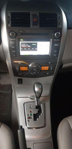 Toyota corolla xei aut 2013/2014 facilitamos sua entrada no cartao de credito - Foto 5