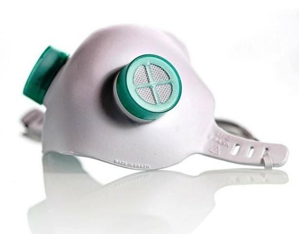 Máscara de proteção eva