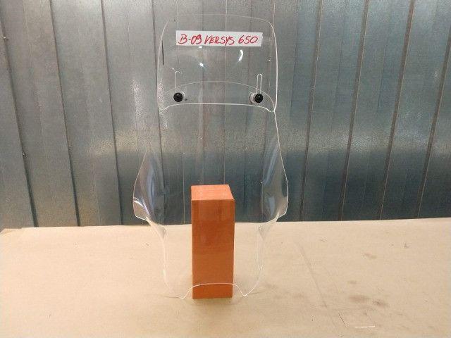 Bolha para brisa alta/ Kawazaki Versys 650 ano 2014 - Foto 6
