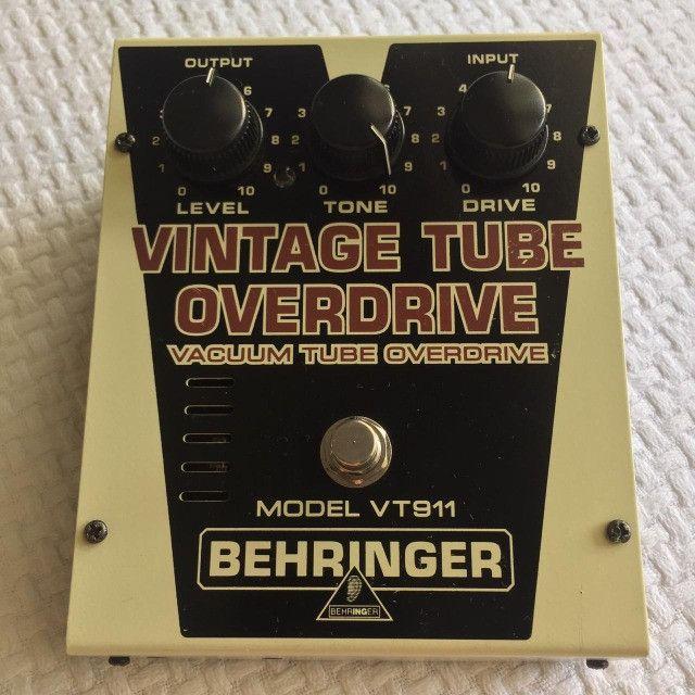 Pedal Overdrive Behringer Vintage Tube Vt-911